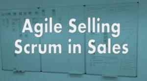 Agile scrum in sales